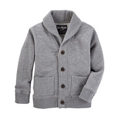Oshkosh Long Sleeve Cardigan - Toddler Boys