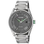 Citizen Mens Silver Tone Bracelet Watch-Bm6980-59h