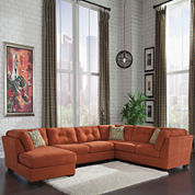 Signature Design by Ashley® Delta City 3-pc. Sofa Sectional