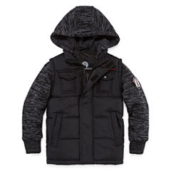 Weatherproof Vest with Sleeves Jacket - Boys