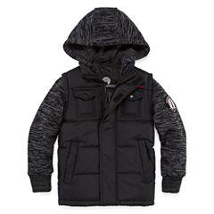 Weatherproof Vest with Sleeves Jacket - Boys Preschool