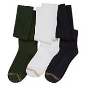 Gold Toe® 3-pk. Knee-High Socks - Girls