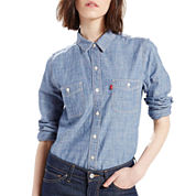 Levi's® Workwear Long-Sleeve Boyfriend Shirt