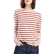 Levi's® Long-Sleeve Sailor Knit Shirt
