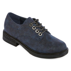 2 Lips Too Riddle Womens Oxford Shoes
