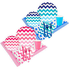 Buyseasons Boy Or Girl Chevron Party Pack