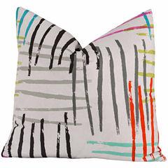 Crayola Stroke Of Genius Throw Pillow