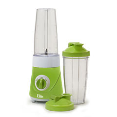 Elite Cuisine EPB-2572G Personal Drink Mixer with Two Travel Cups