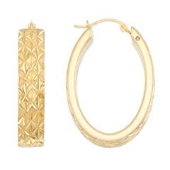 Gold Opulence 14K Gold Hoop Earrings