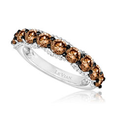 Levian Corp Le Vian Womens 1 3/4 CT. T.W. White Diamond 14K Gold Cocktail Ring