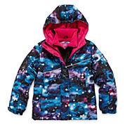 Vertical 9 Vestee Fleece-Lined Ski Jacket - Toddler Girls 2t-4t