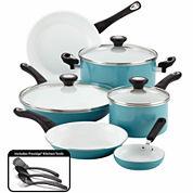 Farberware® purECOok 12-pc. Nonstick Ceramic Cookware Set includes  Prestige Tools®