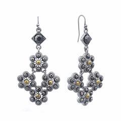 Liz Claiborne® Marcasite Chandelier Earrings