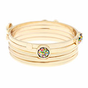 Liz Claiborne® Acrylic Bangle Bracelet