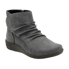 Clarks® Sillian Chell Comfort Ankle Boots