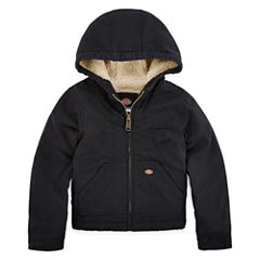 Dickies® Sherpa-Lined Duck Hooded Jacket - Preschool Boys 4-7