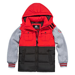 Weatherproof Vest with Sleeves- Preschool Boys 4-7