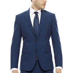 JF J. Ferrar® Blue Stretch Jacket - Super Slim-Fit