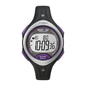 Timex® Ironman Road Trainer Womens Heart Rate Monitor Chronograph Watch T5K723F5