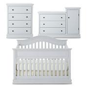 Savanna Tori 3-pc. Baby Furniture Set - Light Gray