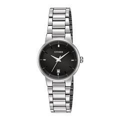 Citizen® Womens Stainless Steel Bracelet Watch EU6010-53E