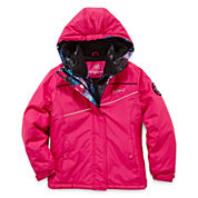 Vertical 9 Vestee Fleece-Lined Ski Jacket - Toddler Girls 2t-4t