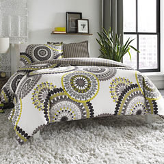 City Scene Radius Medallion Comforter Set