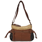 St. John`s Bay Colorblock Convertible Shoulder Bag