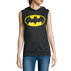 Batman Sleeveless Hoodie  - Juniors