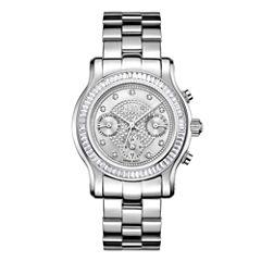 JBW Womens Silver Tone Bracelet Watch-J6330b