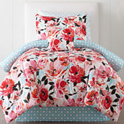 JCPenney Home™ Jenna Floral Complete Bedding Set with Sheets