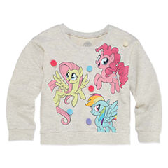 Long Sleeve My Little Pony Sweatshirt - Toddler Girls