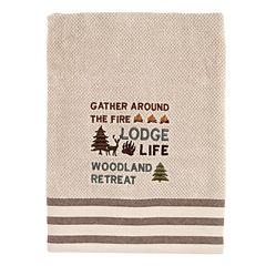 Avanti Cabin Words Bath Towel