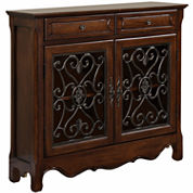 Scroll 2-Door Console Table