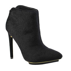 Michael Antonio Troops Faux Pony-Hair Booties