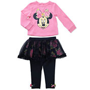 Disney Girls Skirt Set