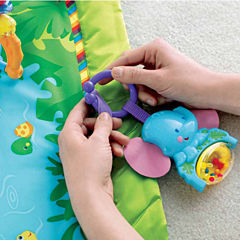 Fisher-Price Rainforest Melodies And Lights Deluxe Baby Activity Center