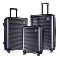 Travelers Club Beijing 3-pc. Luggage Set