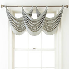 Liz Claiborne® Giselle Solid Waterfall Valance