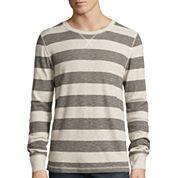 Arizona Long-Sleeve Striped Thermal Shirt