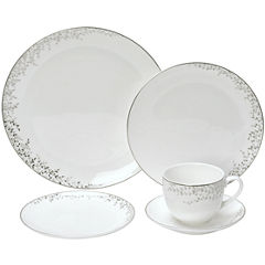 Mikasa® Shimmer Vine Bone China Dinnerware Collection