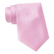Stafford® Micro-Square Silk Tie