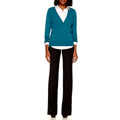 Worthington® Cardigan Sweater, Button-Front Shirt or Modern-Fit Trousers