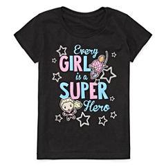 Marvel Graphic T-Shirt-Big Kid Girls