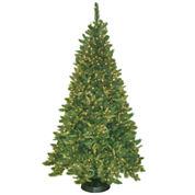 7.5' Pre-Lit Mixed Pine Christmas Tree