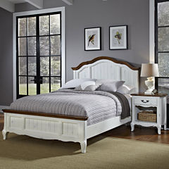 Beaumont Bed and Nightstand Set