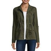 Arizona Long-Sleeve Twill Anorak Jacket