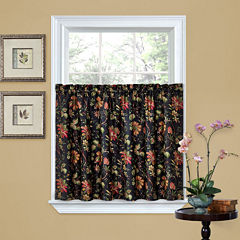 Waverly® Felicite Rod-Pocket Window Tiers
