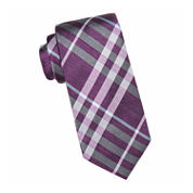 Collection by Michael Strahan™ Telluride Open Plaid Silk Tie - Extra Long