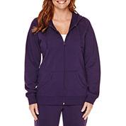 Made for Life™ Long-Sleeve Basic Hooded Fleece Jacket - Tall